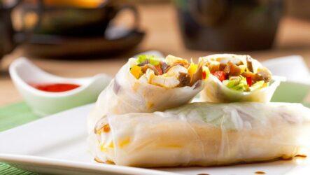 Спринг роллы: 7 азиатских рецептов