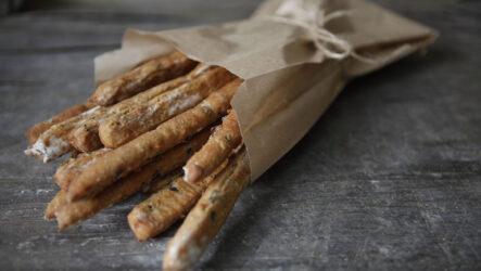 Хлебные палочки Гриссини: 10 рецептов по-итальянски