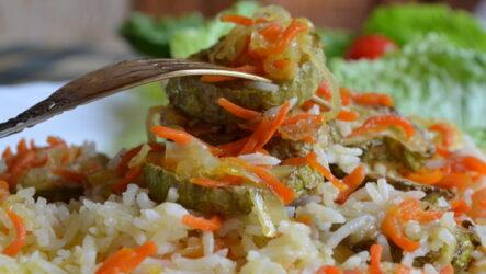 Рис с кабачками: 9 рецептов на любой вкус