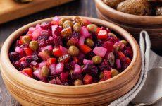 Винегрет с горошком: 6 простых рецептов
