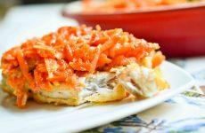 Минтай с морковью и луком: 7 простых рецептов