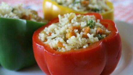 Какой он — самый вкусный фаршированный перец с рисом? 7 рецептов
