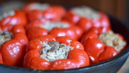 Чем фаршировать и как приготовить перцы в кастрюле — 6 рецептов