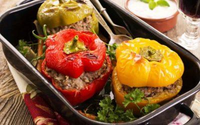 Оригинальные рецепты приготовления фаршированного перца в духовке— 8 идей