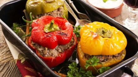 Оригинальные рецепты приготовления фаршированного перца в духовке — 8 идей