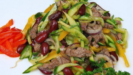 Как приготовить говядину с огурцами? 7 рецептов блюд и салатов
