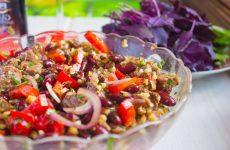 Вкусный грузинский салат с оригинальной заправкой— 7 рецептов