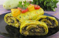 Как из кабачков сделать аппетитный рулет— 8 рецептов с начинками