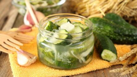 Как я делаю на зиму вкусный салат из огурцов — 8 рецептов