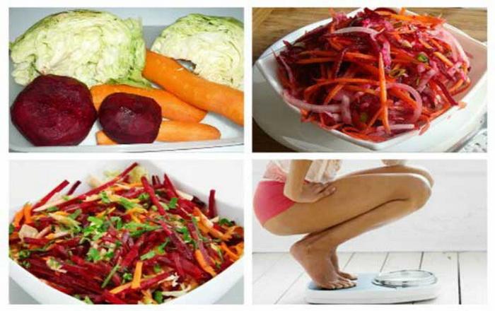 Как похудеть на салате Щетка и Метелка