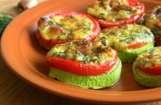 Жареные кабачки с помидорами — 8 самых вкусных рецептов