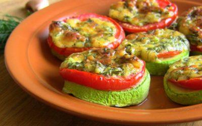 Жареные кабачки с помидорами— 8 самых вкусных рецептов