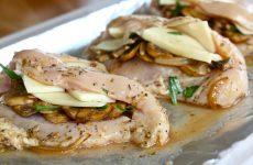 Сочная куриная грудка с грибами— 8 лучших рецептов приготовления