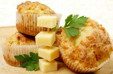 Сытные маффины с сыром — 8 рецептов несладкой выпечки