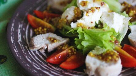 7 рецептов правильных ПП-салатов с курицей