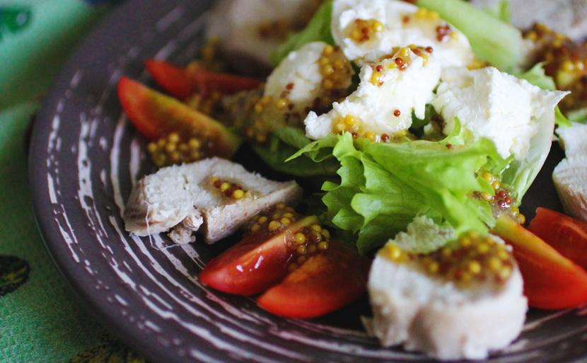 ПП салат с курицей