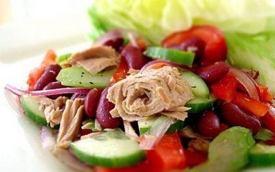 ПП-салат с тунцом— 6 рецептов для красоты и стройности