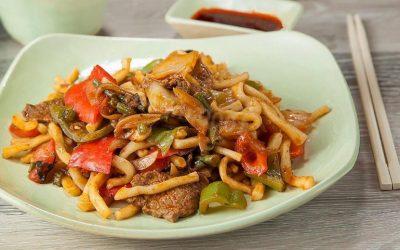 Узбекский жареный лагман— 6 рецептов, как приготовить дома