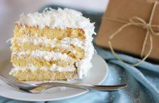Как дома приготовить кокосовый торт — 7 сладких рецептов