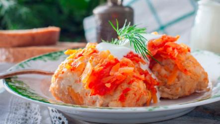7 любимых рецептов ленивых голубцов с рисом — просто и быстро