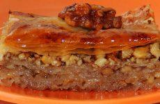 Пахлава с орехами— 7 сладких рецептов с медом и изюмом