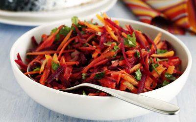 Салат из свеклы и моркови— 8 рецептов с пользой