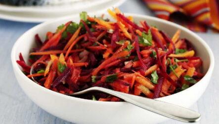 Салат из свеклы и моркови — 8 рецептов с пользой