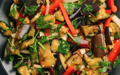 Соте из баклажанов— 8 пошаговых рецептов приготовления