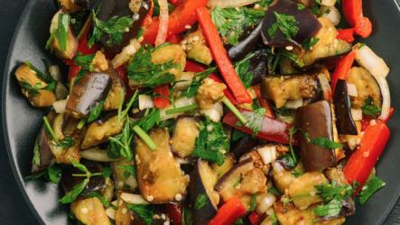 Соте из баклажанов — 8 пошаговых рецептов приготовления