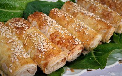 7 рецептов приготовления трубочек из лаваша на завтрак— с фото