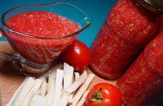 Горлодер из помидоров на зиму — 8 рецептов острой закуски