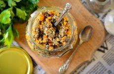 Грибная икра с морковью— 7 фото-рецептов, как приготовить на зиму