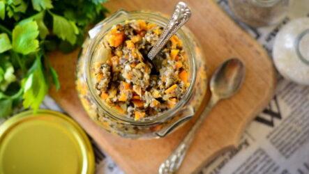 Грибная икра с морковью — 7 фото-рецептов, как приготовить на зиму