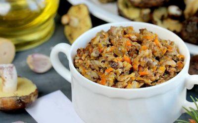 Грибная икра через мясорубку— 8 рецептов заготовок