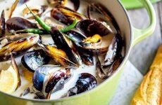 Мидии в чесночном соусе— 8 рецептов приготовления с фото