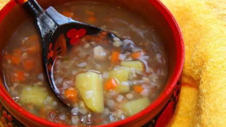 Гречневый суп — 8 сытных рецептов к обеду