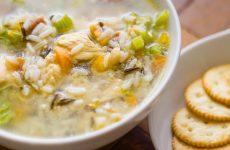 Рисовый суп с курицей— 7 пошаговых рецептов с фото
