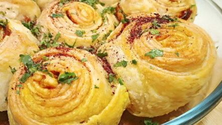 Слоеные улитки — 8 рецептов сытной выпечки
