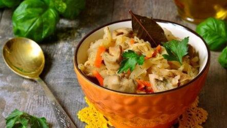 Солянка с грибами — 6 сытных домашних рецептов