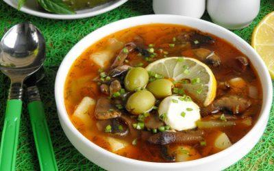 Солянка с картошкой — 7 быстрых оригинальных рецептов