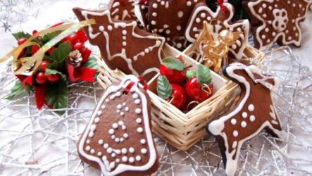 Новогоднее имбирное печенье — 8 рецептов для подарков и на ёлку