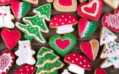 Новогоднее печенье с глазурью— 6 ярких и волшебных фото-рецептов