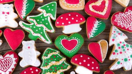 Новогоднее печенье с глазурью — 6 ярких и волшебных фото-рецептов