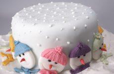 Фото-идеи: как украсить Новогодний торт 2020