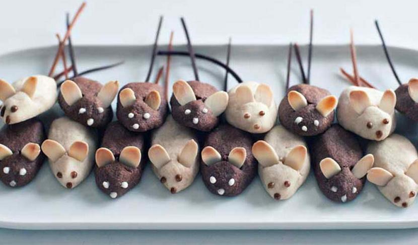 Печенье в форме мышки крыски