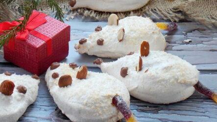 Пирожные в виде Мышки и Крыски — 5 новогодних рецептов