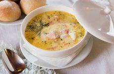 Рыбный суп со сливками— 7 лучших пошаговых рецептов