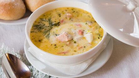 Рыбный суп со сливками — 7 лучших пошаговых рецептов