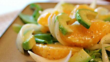 Салат с апельсином — 9 рецептов на праздничный стол