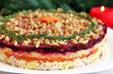 Салат Генерал — 8 рецептов красивых и праздничных